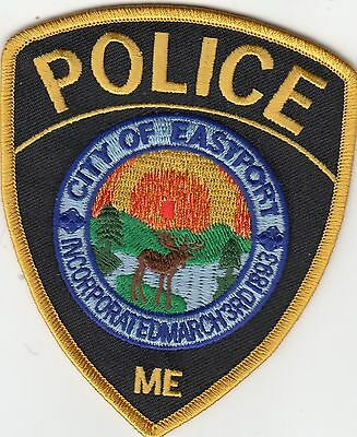Eastport Maine Me Police Shoulder Patch