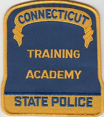 Connecticut State Police Training Academy Patch Ct