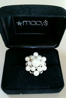 Macy's pearl ring