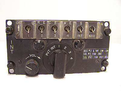 Control Intercommunication Set C-1611D/AIC   F-4 Phantom ,  AH-1G Cobra