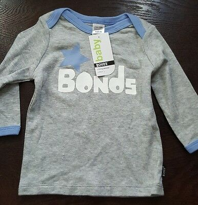 ** BONDS Baby Boy Pj Top Only Size 00 months NEW **