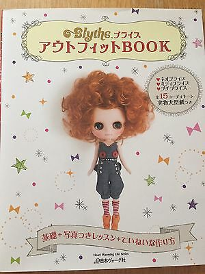 Blythe Doll Sewing Pattern Book Japan Dolly Coordinates