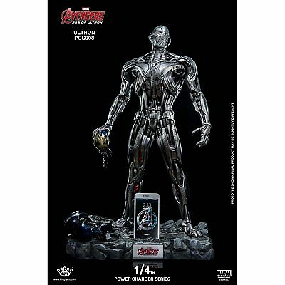 King Arts Ultron Prime AOU 1:4 Charger Statue  not Sideshow Iron Studios