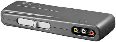 Audio-Video-Umschaltbox ; AVS 17 (4IN 1OUT-CINCH)