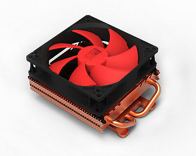 PcCooler K101D 2 x 6mm Heatpipe VGA Cooler with 10cm Ultra Silent Fan & Heatsink