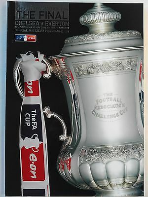 2009 FA Cup Final Chelsea v Everton Mint condition