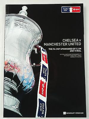 2007 FA Cup Final Chelsea v Manchester United CHEAPEST ON EBAY Mint condition