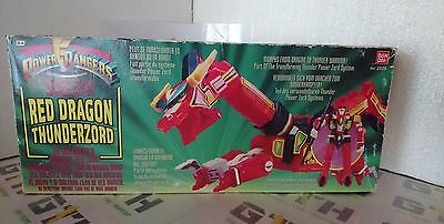 Power Rangers Red Dragon Thunderzord boxed