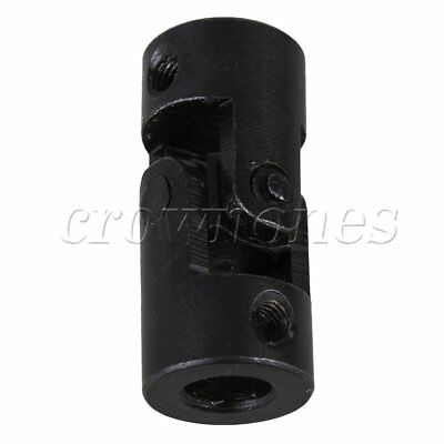 Black Machinery Universal Joint Couplings Metal Steering Connector 20mm x 45mm