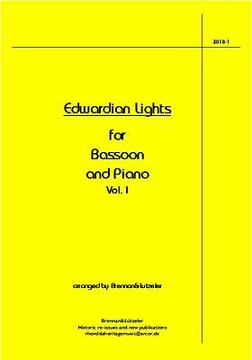 """Edwardian Lights Vol. I"" 6 Solos for Bassoon and Piano"