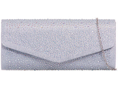 Diamante Shinning Ladies Brand Party Evening Clutch Bags L941