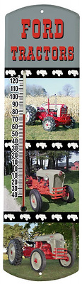 Heritage America by MORCO 375TFORD Tractor-Ford Outdoor or Indoor Thermometer, 2