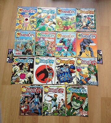 Thundercats 1 - 84 Marvel UK Weekly comics plus original Gifts. 84 issues.