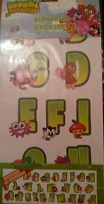 Moshi Monsters Alphabet Wall Stickers Decals