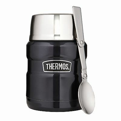 Thermos Stainless King Stainless Steel Vacuum Insulated Food Flask 0.42L