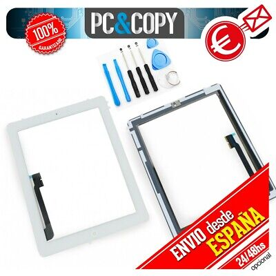 PANTALLA TACTIL iPad 3 A1416 BLANCA DIGITALIZADOR CRISTAL TOUCH SCREEN HERRAMIEN