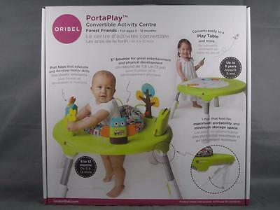 Brand New Oribel PortaPlay Convertible Forrest Friends Activity Center - 2016