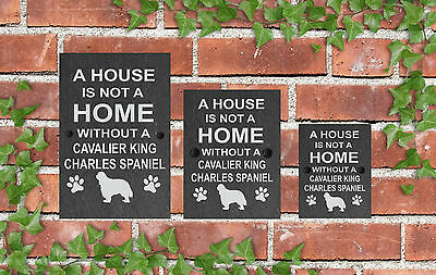 A House is not a Home Dog Slate Sign Gate House 3 Sizes ALL BREEDS available A-C