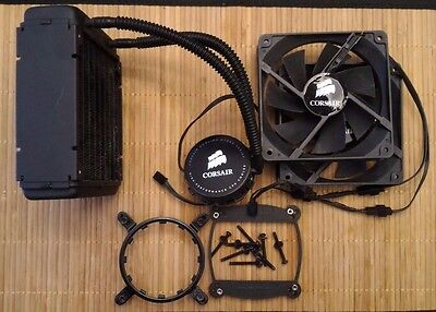 Corsair Hydro Series H70 High Performance Dual-Fan Liquid CPU Cooler CWCH70