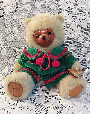 Robert Raikes Retired Numbered Christmas Holiday Kathie Bear by Applause w/ Tags