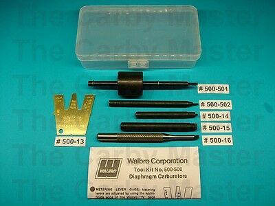 Walbro Style Diagphragm Carburetor Repair Tool Kit  #500-500