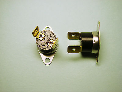 Two Thermal Switches  Elmwood 2455R  Nc  Opens @ 40°C  339-291