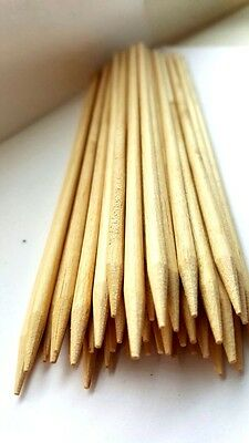 100 x Wooden Bamboo BBQ Skewers Size - Different sizes - GN Enterprises
