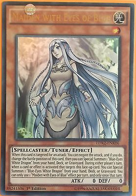 Ldk2-Enk06- Maiden With Eyes Of Blue- Ultra Rare 1St Edition Mint