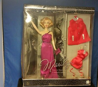 Marilyn Monroe How to Marry a Millionare Barbie Collector Doll