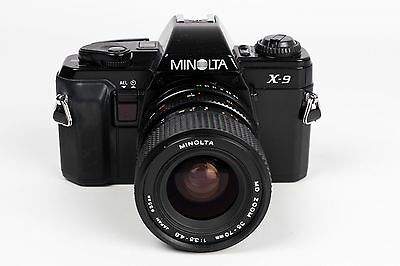 Minolta X9 +  MD Zoom  35-70mm 1:3.5 - 4.8