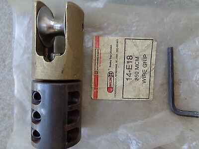 """Rothenberger 14-E18 3"""" Conduit Size Wire Cable Swivel Pulling Grip 350 Mcm"""