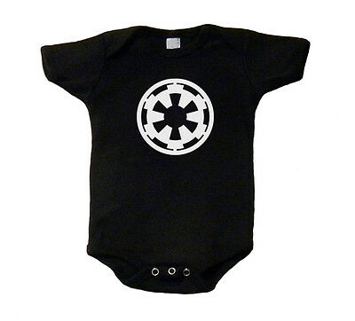 Galactic Empire Star Wars Baby T-Shirt One Piece Romper Creeper Snap Tee