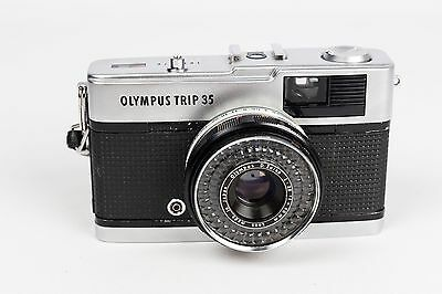 Olympus Trip 35 + Zuiko 40mm 1.2.8 - LIGHTMETER NOT WORK