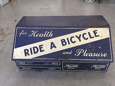 Vintage Morrow Tool Box Toolbox Bicycle Bike For Health and Pleasure Ride A Bike