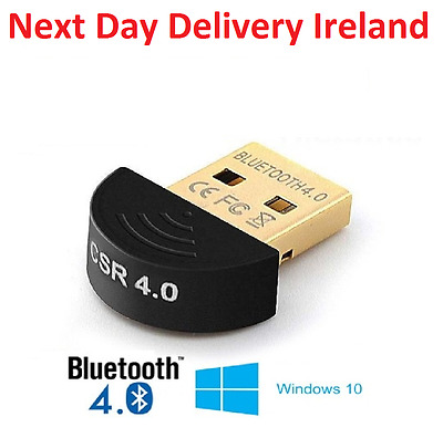 Mini USB Bluetooth Adapter V 4.0 Dual Mode Wireless Dongle CSR 4.0 Win7 /8/XP ST