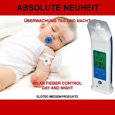 Wireless Bluetooth Tag+ Nacht Infrarot Fieber Thermometer Funk Ohr Baby Kinder