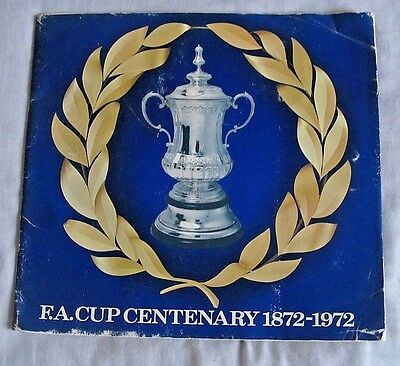 1972 Esso Coins, Collection.100% Complete Set Of Fa Cup Centenary Coins.