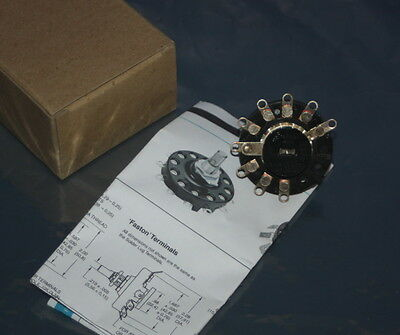 Grayhill Rotary Switch 19101-0801 Silver Contact SP8T 15 Amp  Boxed       (A4)