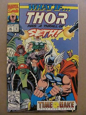 What if #38 Marvel 1989 Series Thor Was A Thrall To Seth