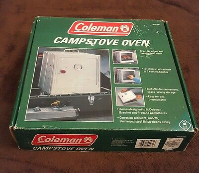 Coleman Camp Oven Charcoal Stove Folding 5010C700 with Box & Instructions