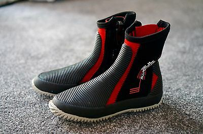 Gul All Purpose Sailing Boots in Black/Red