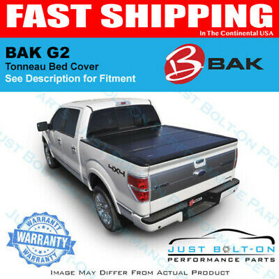 BAKFlip G2 Hard Folding Bed Cover 2014-17 Sierra Silverado 5.8' Crew Short Bed