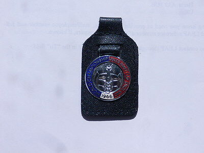 WORLD CUP KEYFOB 'WORLD CHAMPIONSHIP JULES RIMET CUP ENGLAND 1966' from FA