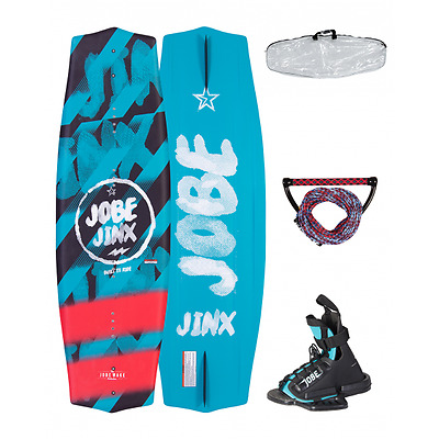 WAKEBOARD JINX PACKAGE JOBE with adjustable shoes and bag - 2083