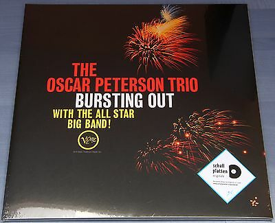 The Oscar Peterson Trio - Bursting Out Vinyl LP Neu / OVP