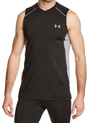 Under Armour Raid MEN'S Adult Athletic Sleeveless Fitted Shirts, 1257467 NEW!
