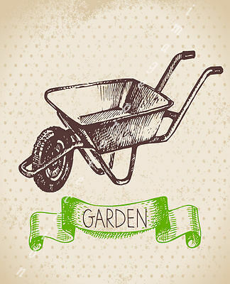 My Garden Large Metal Tin Sign Poster Vintage Style Wall Art Plaque `