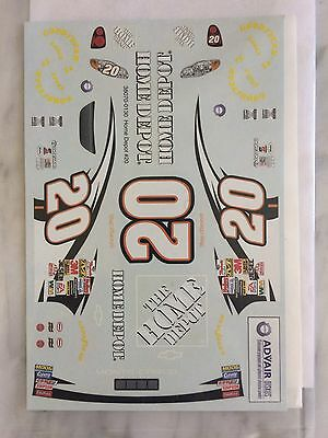 1/25 Tony Stewart Decals Nascar By AMT