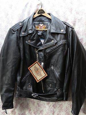 HARLEY DAVIDSON Shovelhead Jacket MOTO THUNDER World Tour LARGE NWT