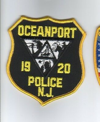 OCEANPORT New Jersey NJ Police Patch (OLD)
